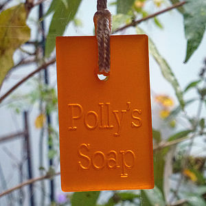 Personalised Soap On A Rope - bath & body