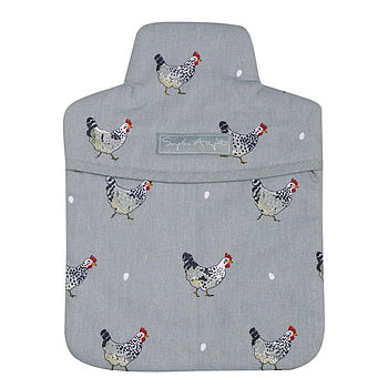 Chicken Hot Water Bottle Cover