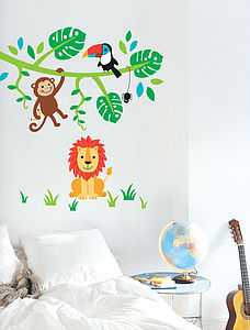 Jungle Friends Wall Stickers - wall stickers