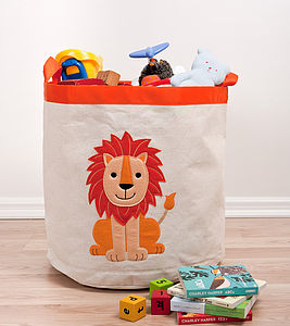 Lion Storage Hamper - children's room accessories
