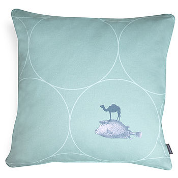 'Fish In Circles' Cushion
