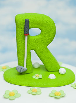 Personalised Letter Cake Topper