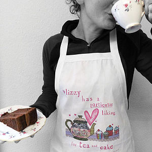 Personalised Women's Apron - cooking & food preparation