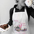 Personalised Women's Apron