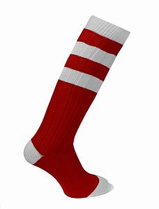 Long Cashmere Socks In Football Team Colours