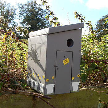 Fifty Sheds Of Grey Personalised Bird Box
