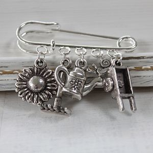 Garden Lovers Brooch - pins & brooches