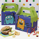 Monster Kids Birthday Party Party Boxes