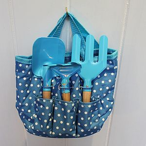 Children's Blue Gardening Kit