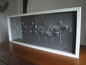 Hedgerow Laser Cut Wall Art