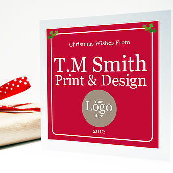 Personalised Corporate Christmas Card
