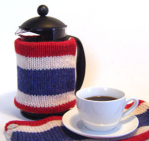 Pure Wool Coffee Cosy Wrap