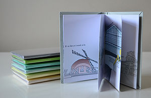 A Walk Through Paris Handmade Book