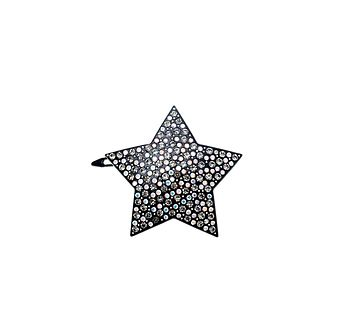 Star Crystal Hair Slide