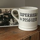 Superhero Mugs