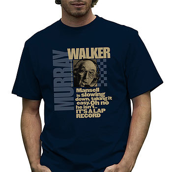Official 'Mansell' Murray Walker T Shirt
