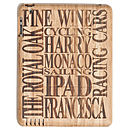 Personalised Wooden Cover For IPad