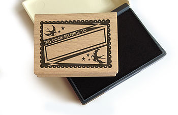 Bird Book Stamp Set