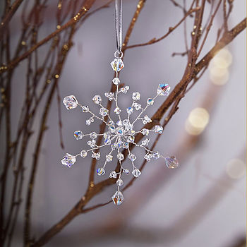 Handmade Snowflake Christmas Decoration