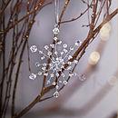 Handmade Snowflake Christmas Decoration