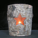 Birch Bark Tea Light