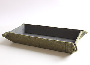 Tweed Pen Or Watch Tray