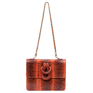 Aphrodite Exotic Skin Shoulder Bag - bags