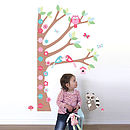 Forest Height Chart Wall Sticker