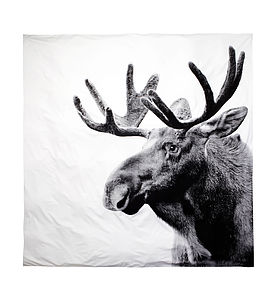 Moose Bed Linen - bedroom