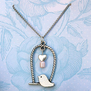 Birdy Looking For Love Necklace