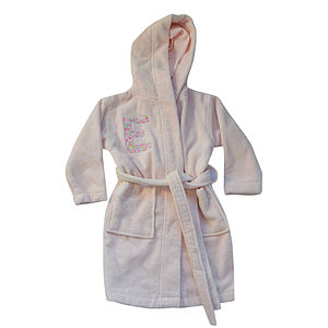 Personalised Liberty Print Bath Robe - lounge & activewear