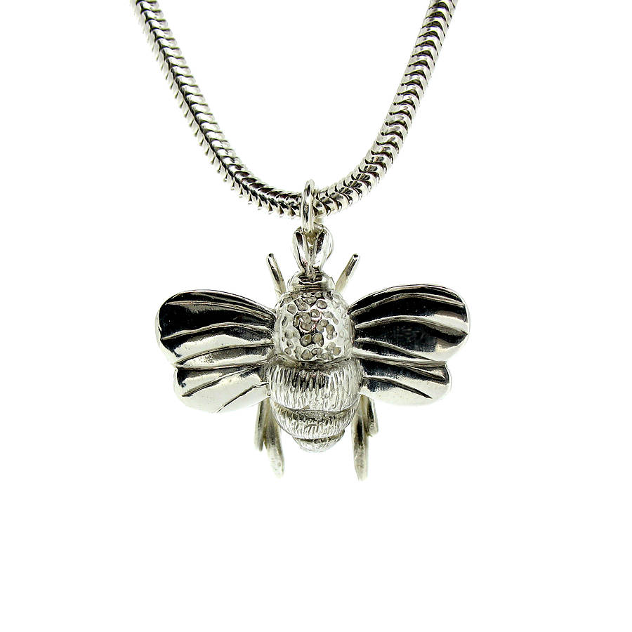 bumble gold jewellery pendant westwood bee necklaces from vivienne