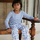 Safari Striped T Shirt Pyjamas