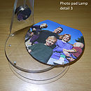 Photo pad lamp