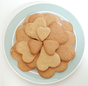Set of Heart-Shaped Biscuit Cutters