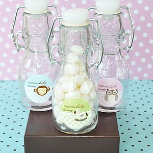 24 Mini Baby Shower Bottle Favours - children's parties