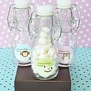 24 Mini Baby Shower Bottle Favours
