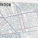 London Typographic Map