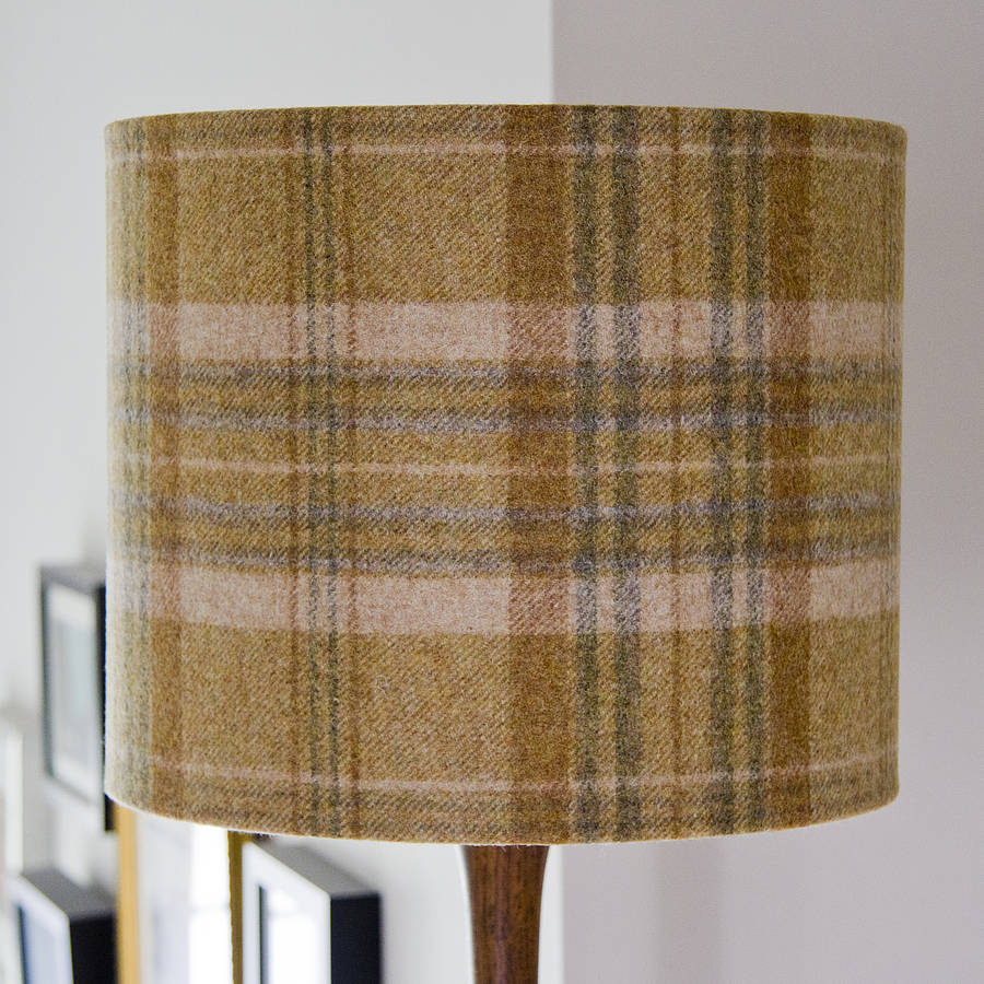 handmade abraham moon wool lampshade by weft bespoke design ...