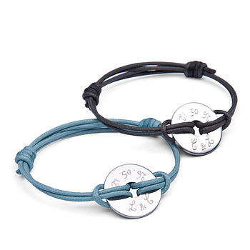Duo Open Disc Bracelets