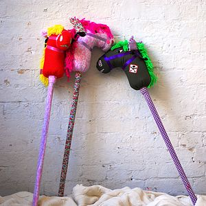 Colourful Hobby Horse - outdoor toys & games