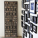 Bespoke Reclaimed Wood Destinations Blind