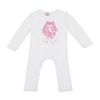 Hootie McTootie Romper Suit In Pink