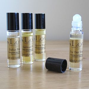 Essential Oil Roll On Perfume - beauty gifts