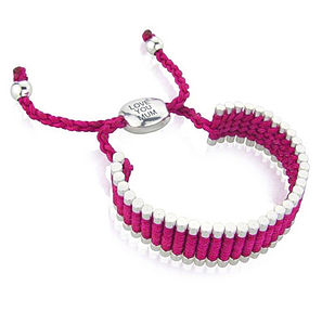 'Love You Mum' Friendship Bracelet - for mothers