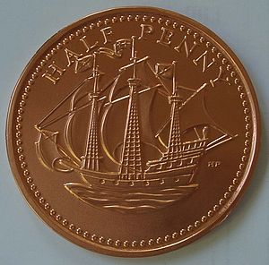 Giant Milk Chocolate Coin - food & drink gifts