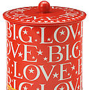 Big Love Biscuit Barrel