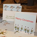 Five Pack Alpine Christmas Cards