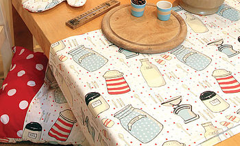 Kitchenalia Oilcloth Tablecloth