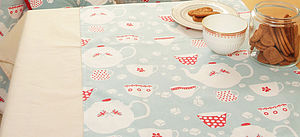 Country Tea Oilcloth Tablecloth - sale by category